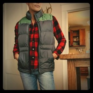 Nwot Vintage Inspired Puffer Vest